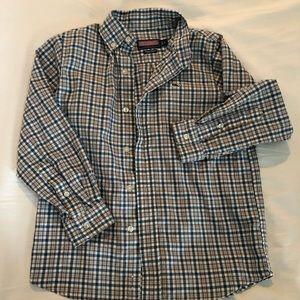 Vineyard Vines Boys Whale Button-down shirt